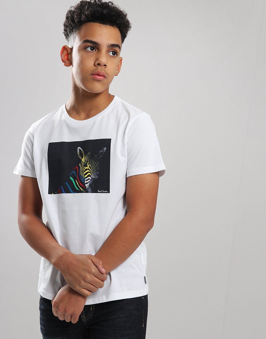 Paul Smith Junior Tery T-Shirt White