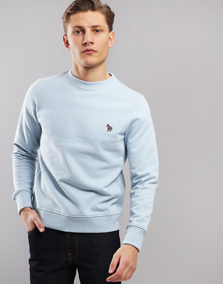 Paul Smith Zebra Logo Sweatshirt Light Blue