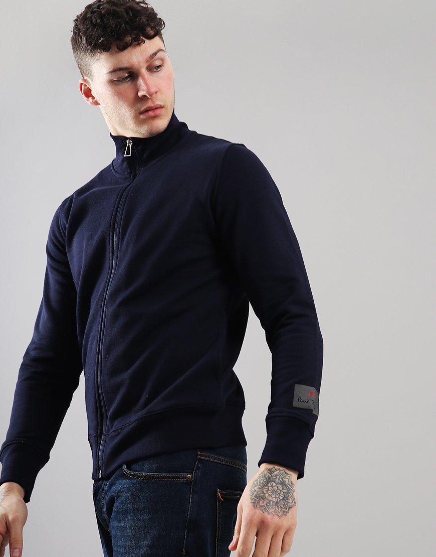 Paul Smith Long Sleeve Zip Top Inky