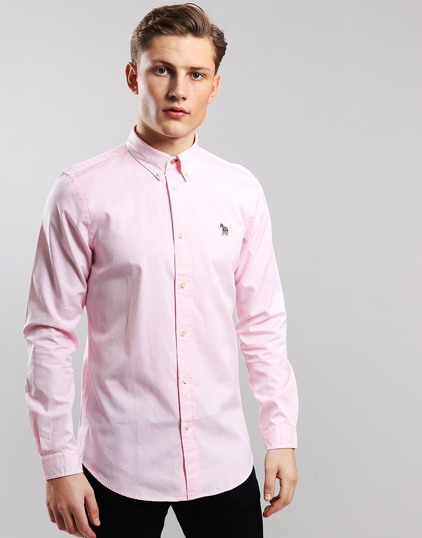 Paul Smith Tailored-Fit Shirt Pink