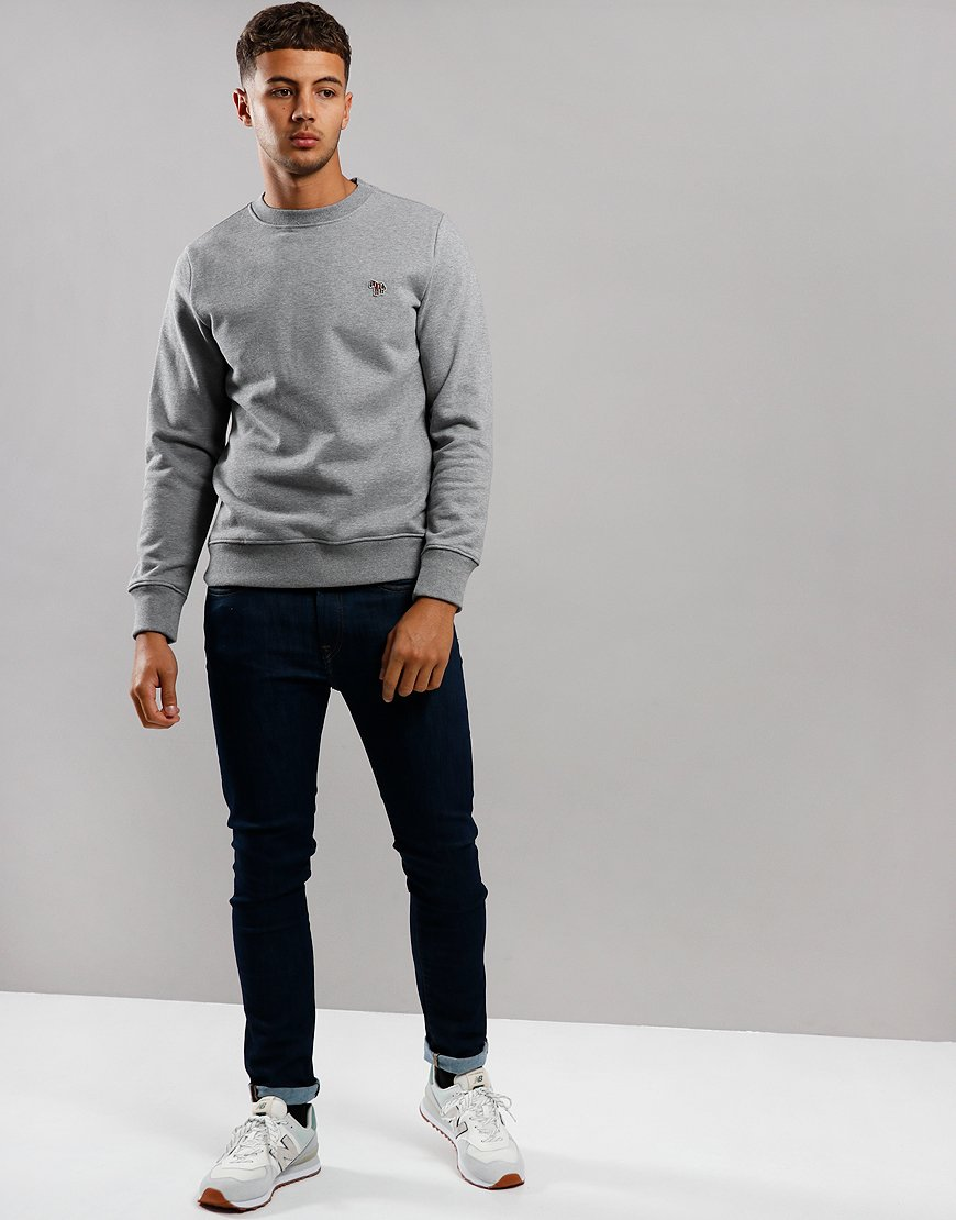 Paul Smith Zebra Logo Sweatshirt Grey Melange