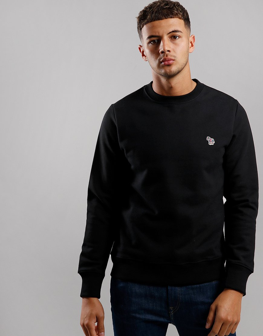 Paul Smith Zebra Logo Sweatshirt Black