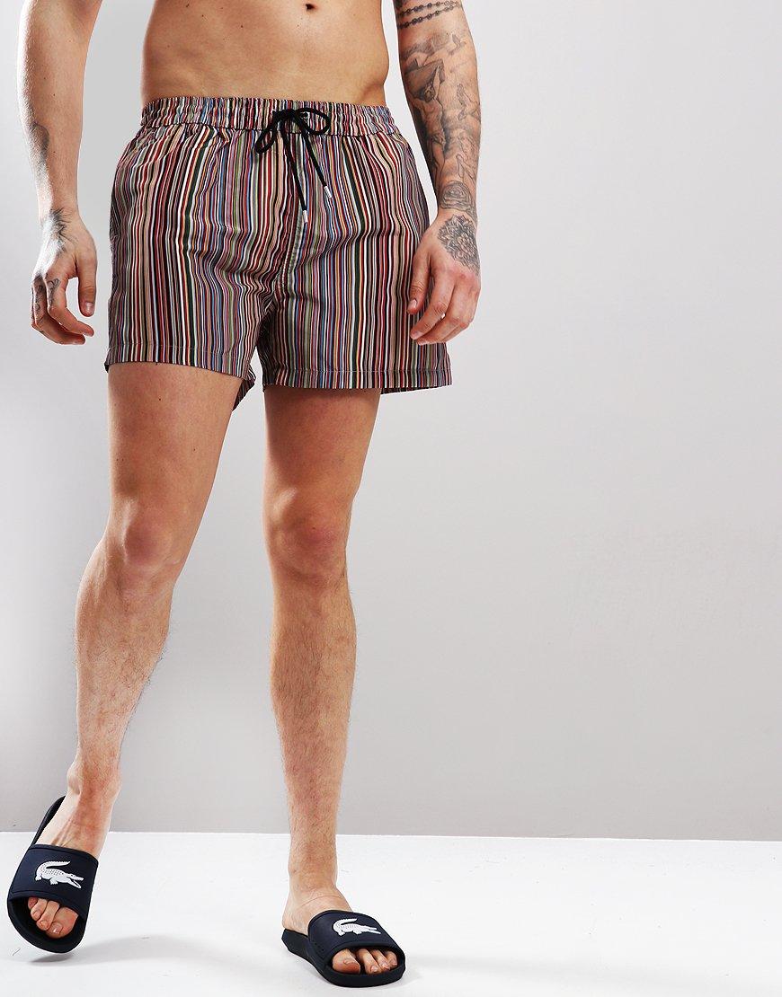 096fe8d247332 Paul Smith 'Signature Stripe' Swim Shorts - Terraces Menswear
