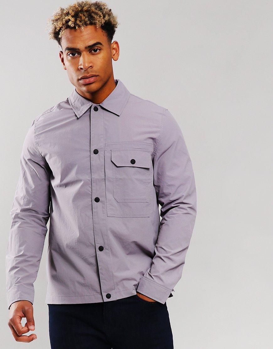 Paul Smith Overshirt Jacket Purple
