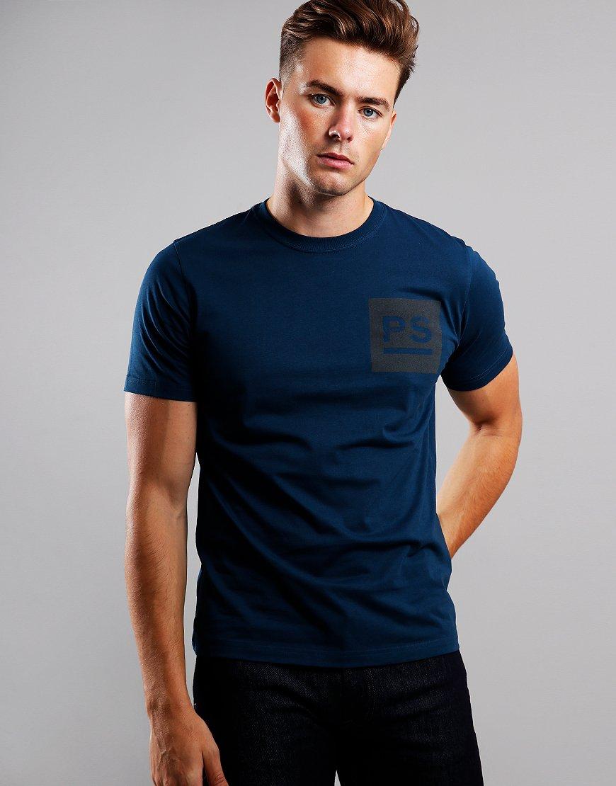 Paul Smith PS Square Logo T-Shirt Lemon
