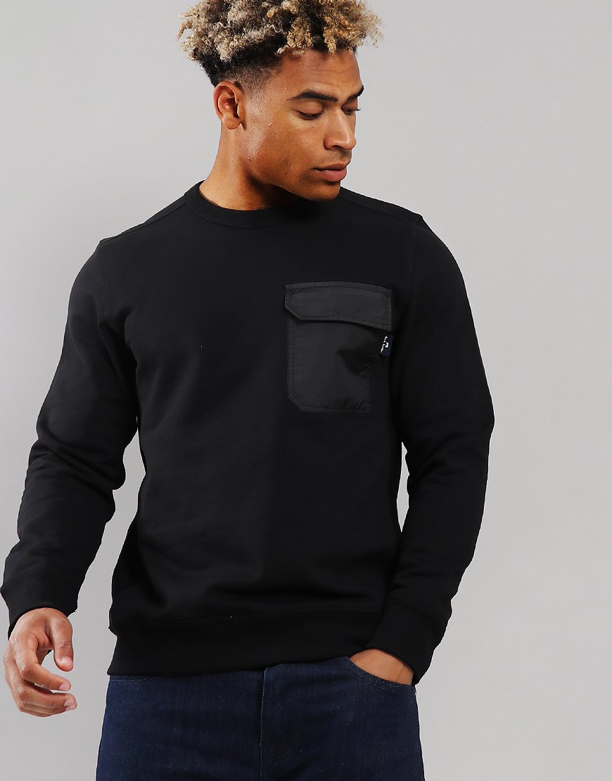 Paul Smith Regular Fit Pocket Sweat Black