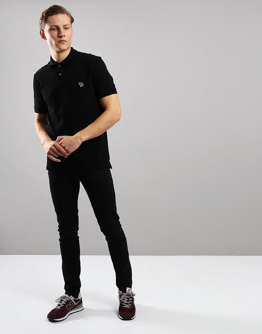 Paul Smith Regular Fit Polo Shirt Black