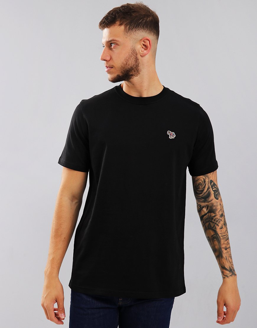 Paul Smith Zebra Logo T-Shirt Black