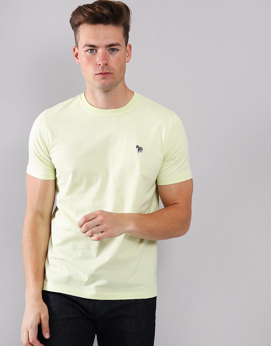 Paul Smith Zebra Logo T-Shirt Lemon
