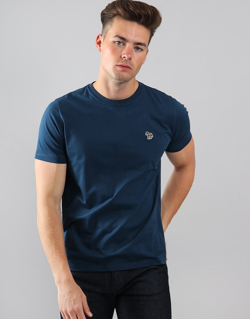 Paul Smith Zebra Logo T-Shirt Navy