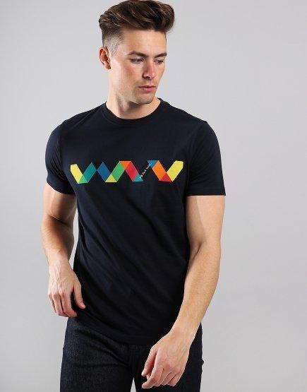 Paul Smith Spiral T-Shirt Dark Navy