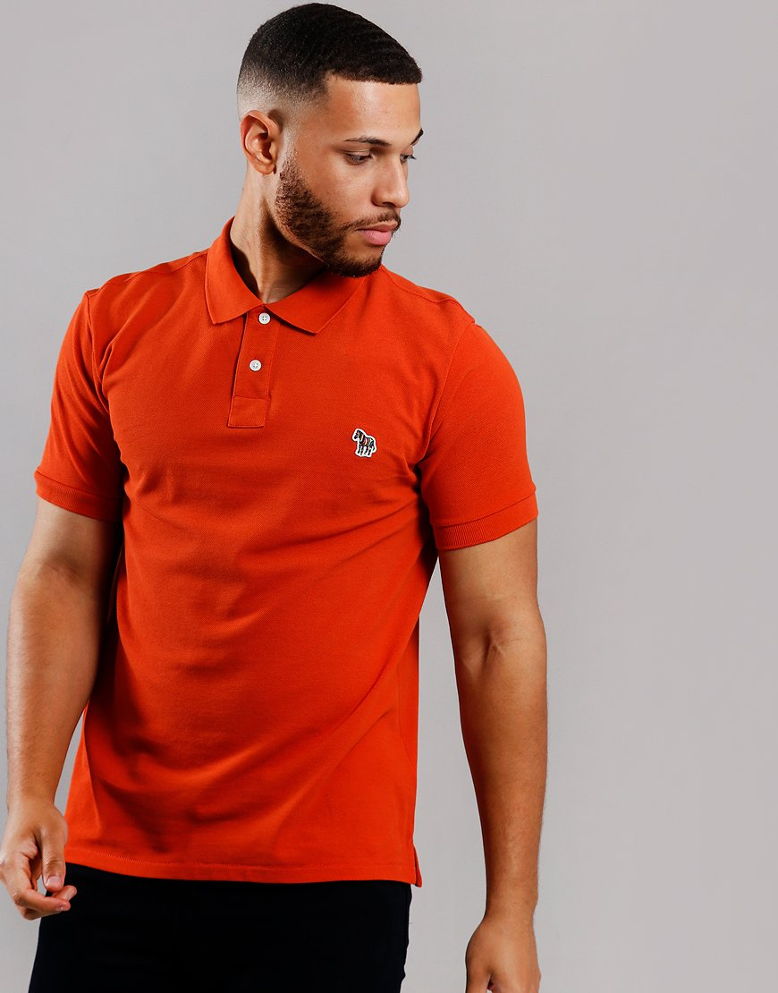 Paul Smith Regular Fit Polo Shirt Light Rust