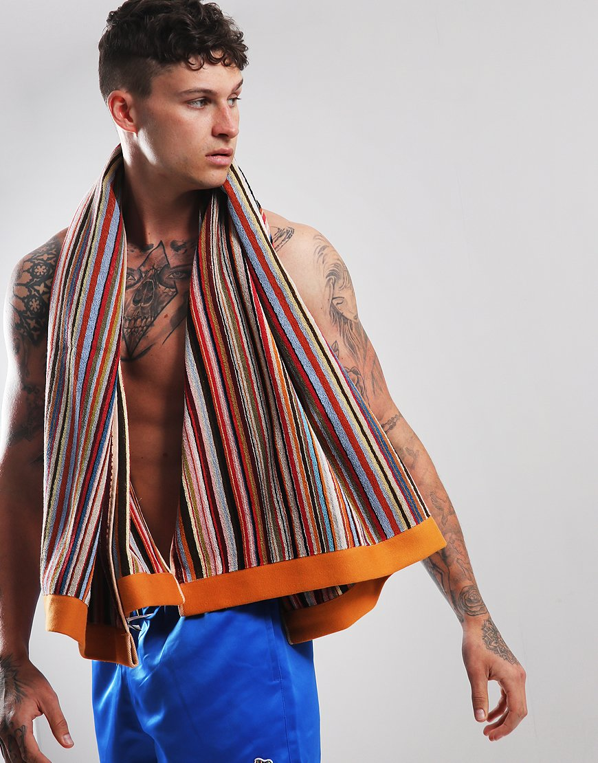 Paul Smith Large Multi-Stripe Beach Towel