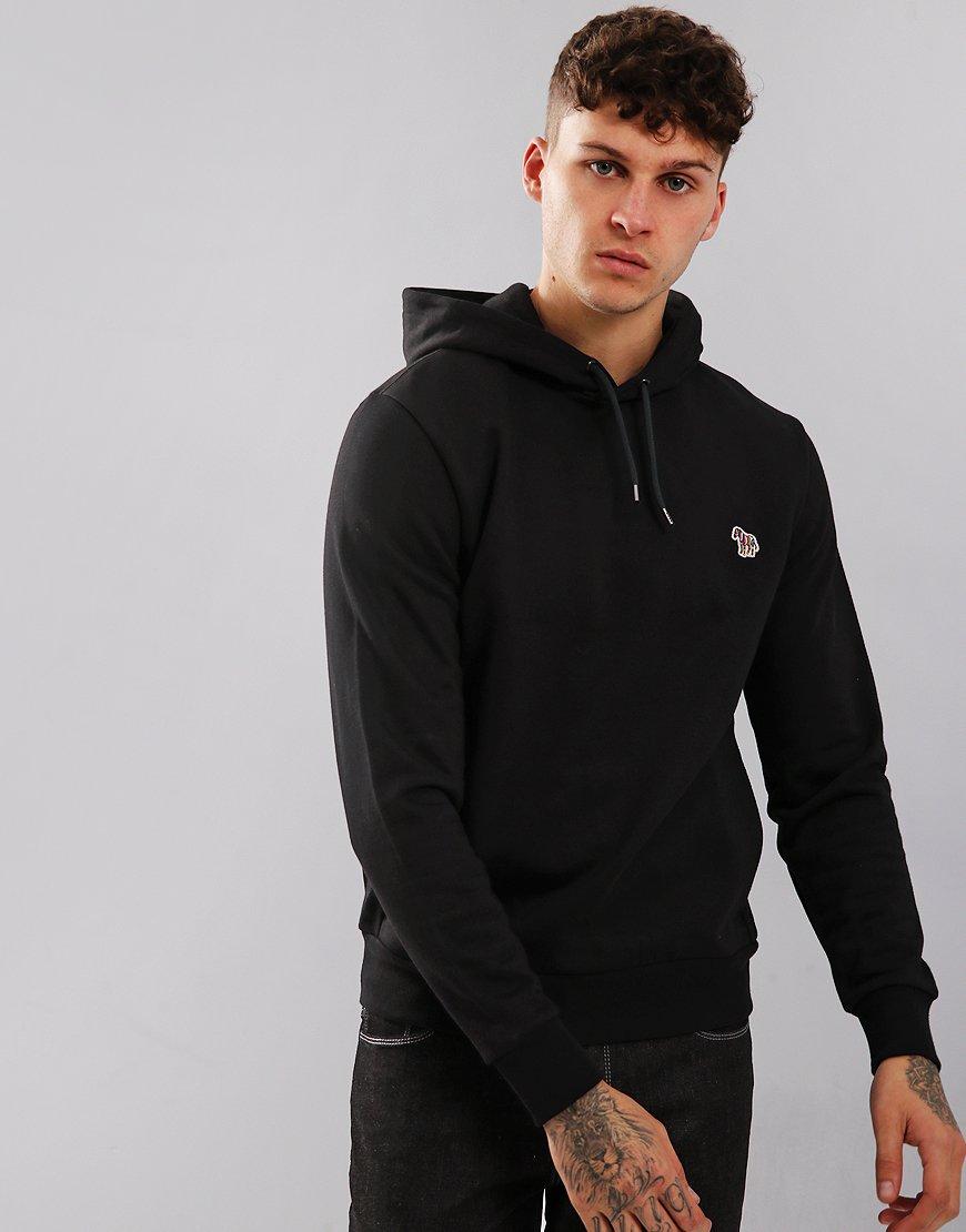 Paul Smith Zebra Logo Hooded Sweatshirt Black
