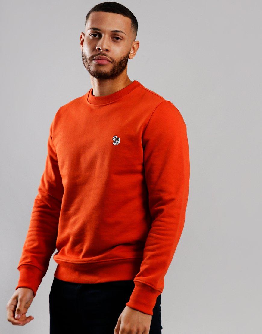 Paul Smith Zebra Logo Sweatshirt Light Rust