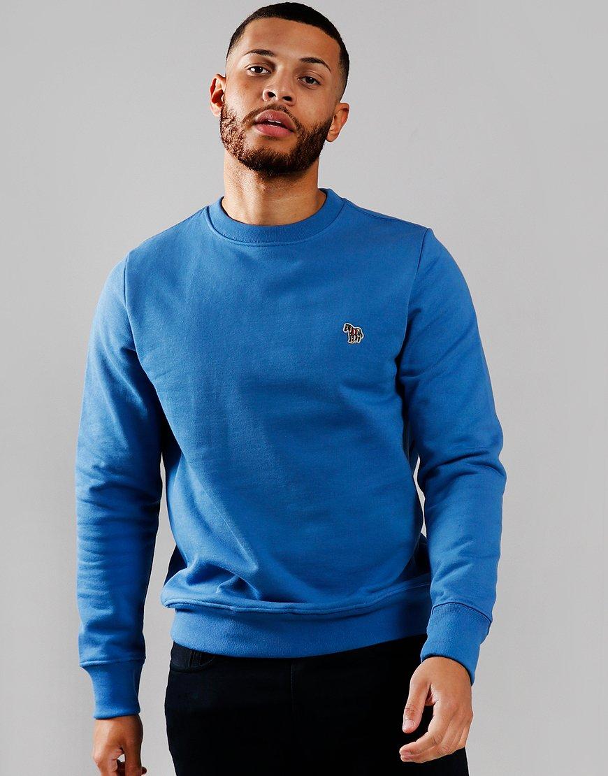 Paul Smith Zebra Logo Sweatshirt Petrol Blue