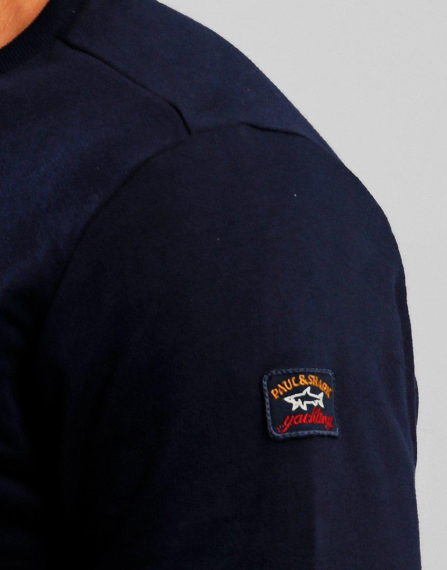 Paul & Shark Crew Neck Sweat Blue