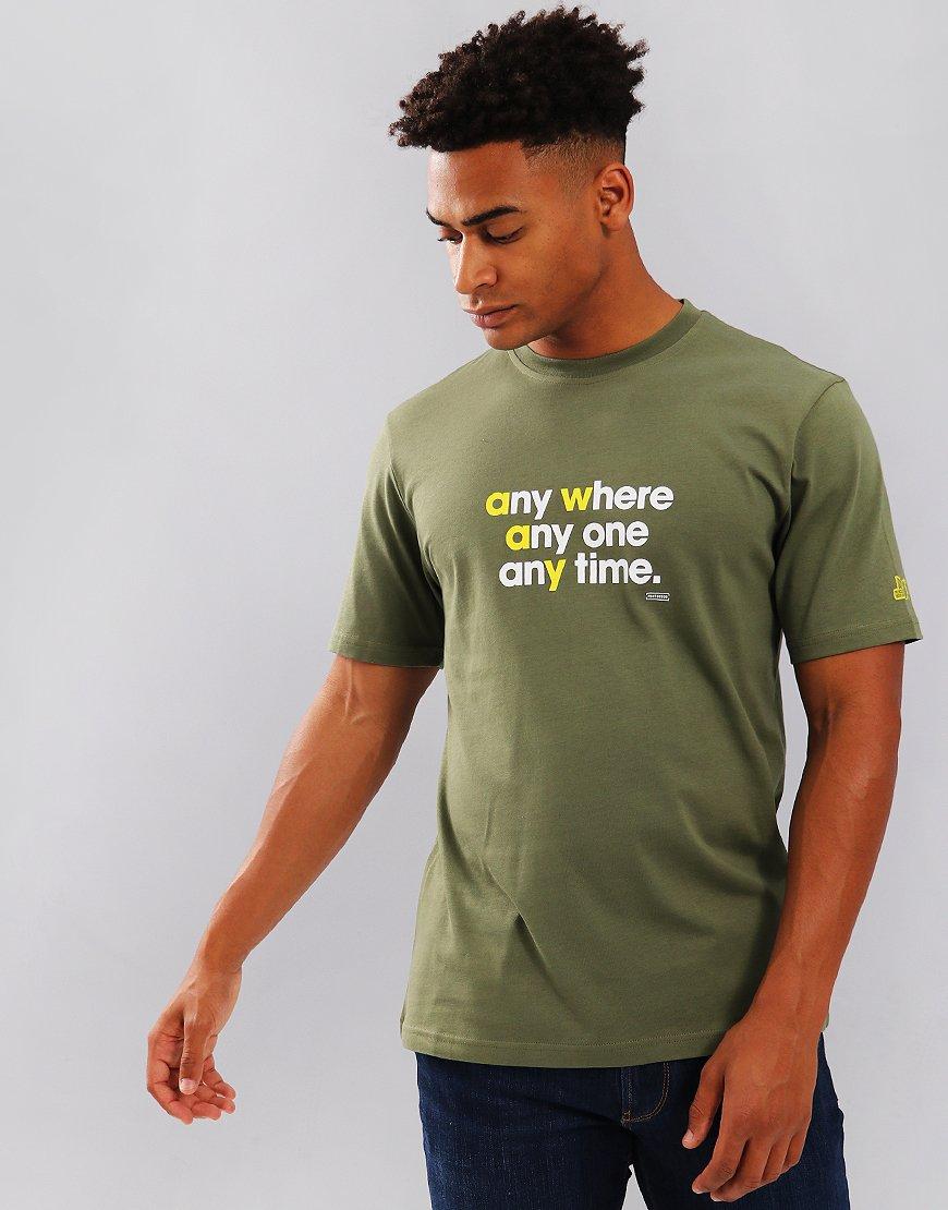 Peaceful Hooligan Anywhere T-Shirt Khaki