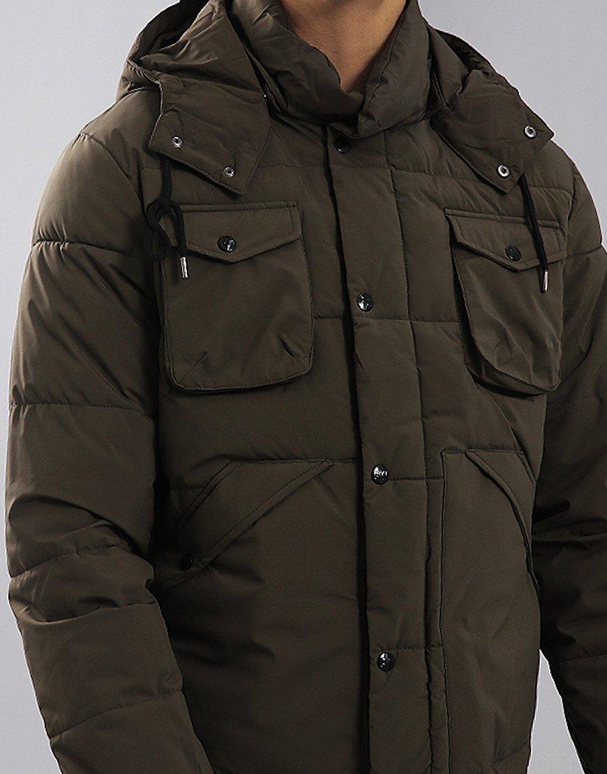Peaceful Hooligan Barrow Jacket Khaki