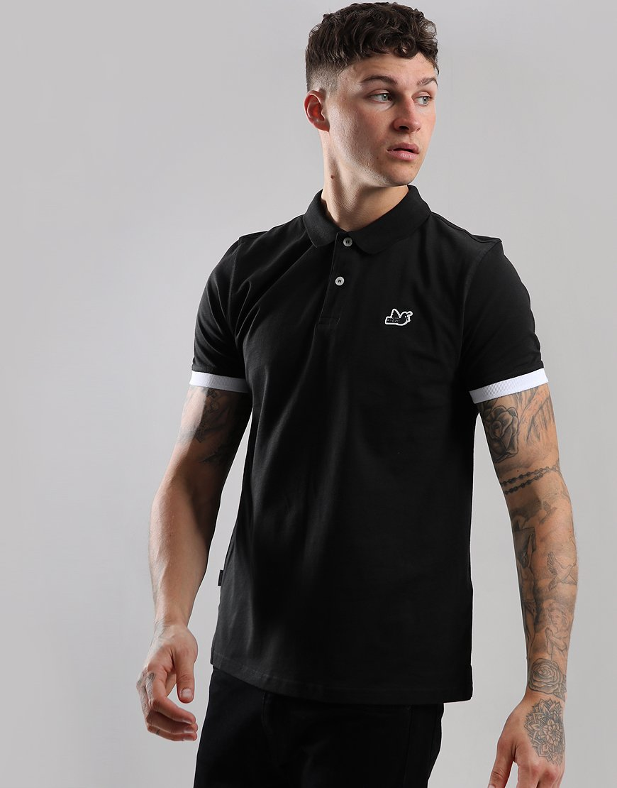 Peaceful Hooligan Brenden Polo Shirt Black