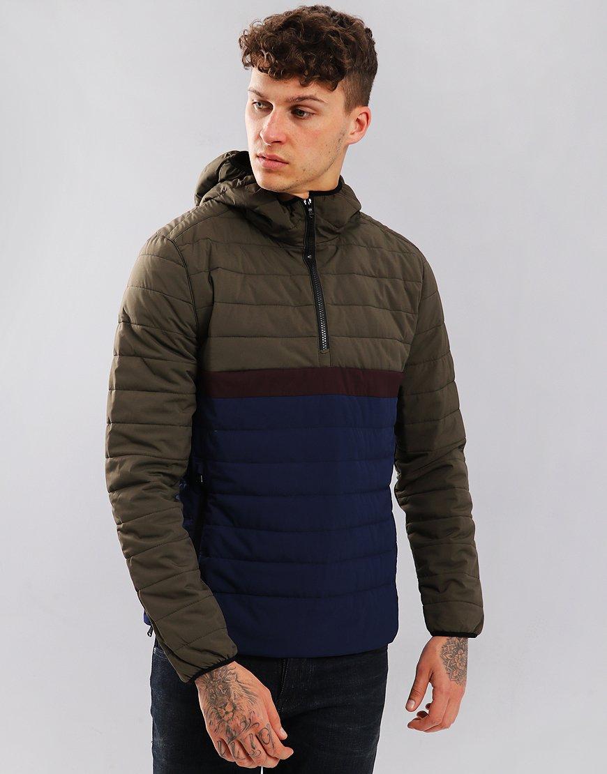 Peaceful Hooligan Cambourne Jacket Khaki