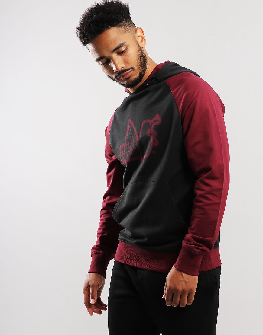 Peaceful Hooligan Cambridge Hoodie Black/Claret
