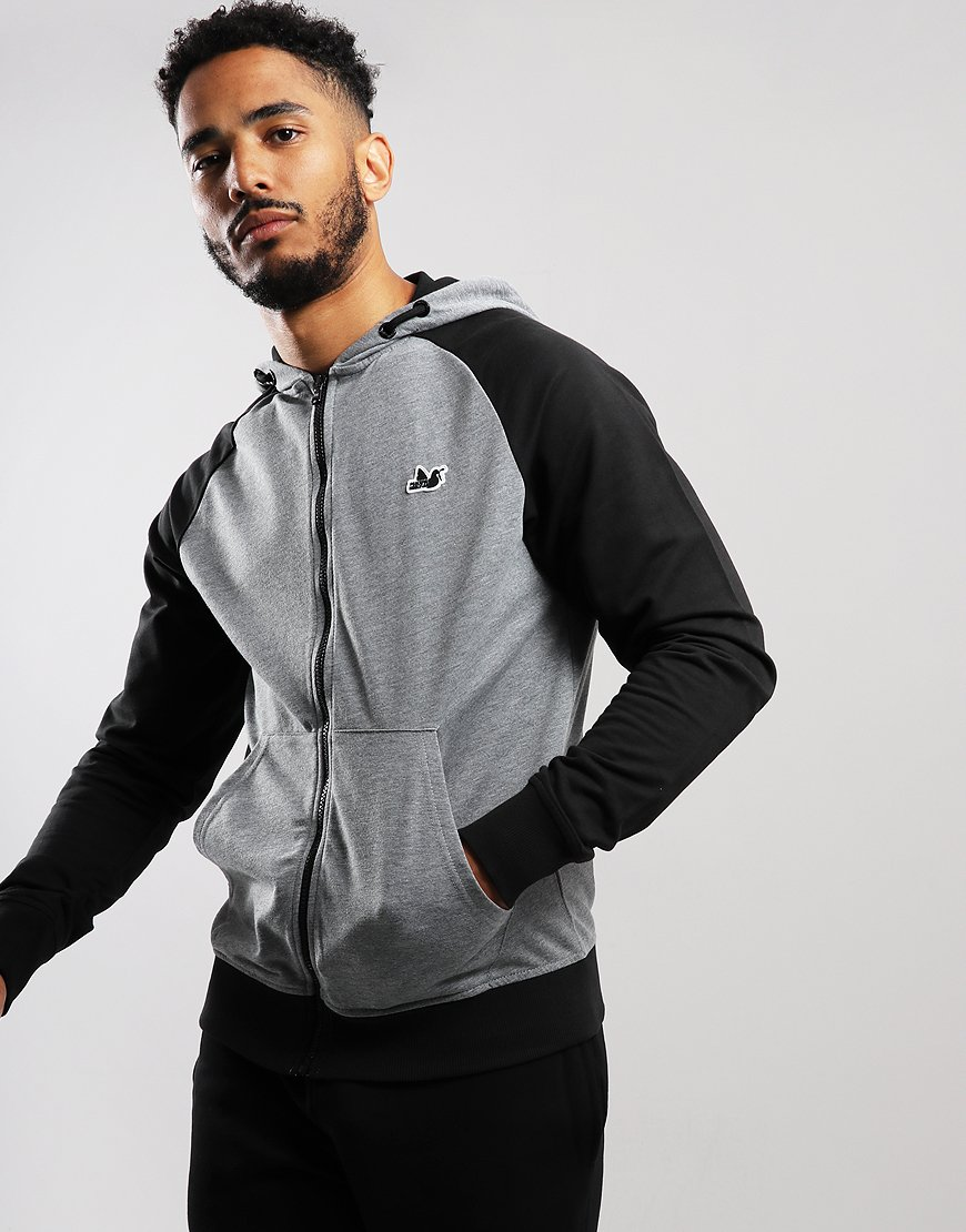 Peaceful Hooligan Ridgewood Hoodie Grey/Black