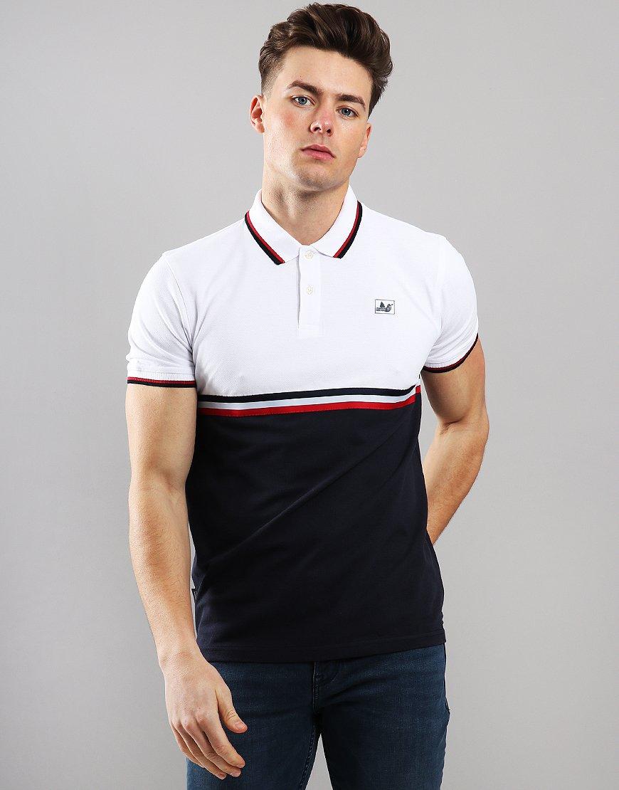 Peaceful Hooligan Cameron Polo Shirt White