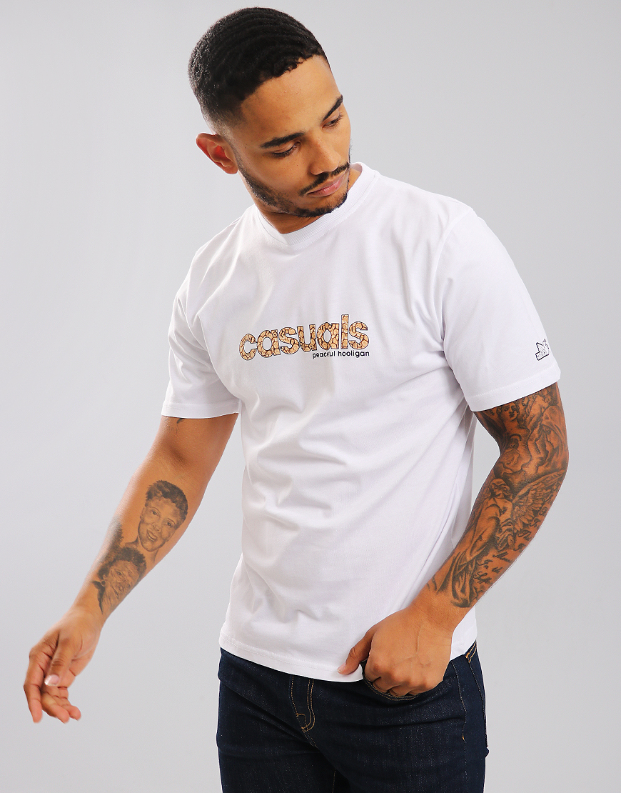 Peaceful Hooligan Casuals T-Shirt White