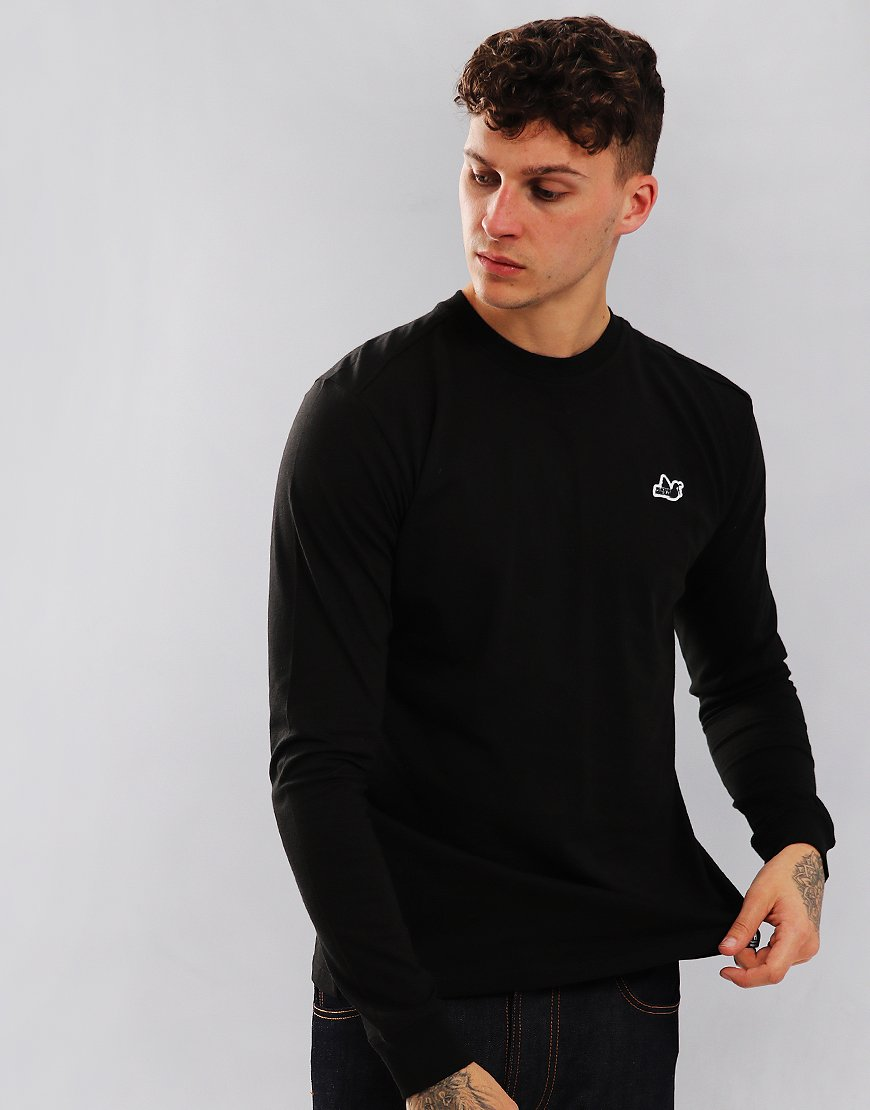 Peaceful Hooligan Long Sleeved Council T-Shirt Black