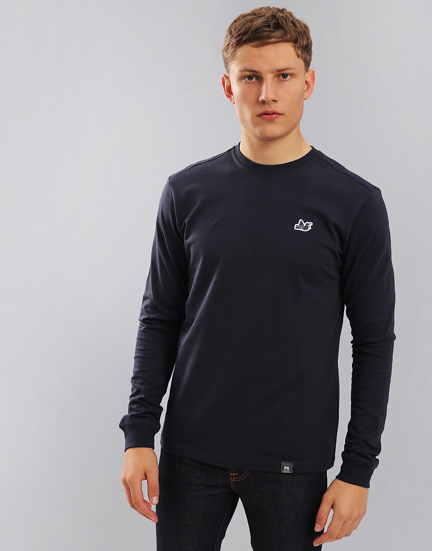 Peaceful Hooligan Long Sleeved Council T-Shirt Navy