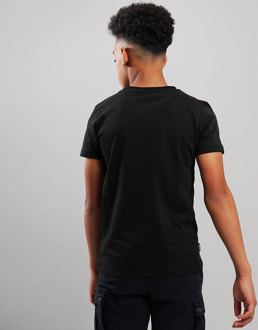 Peaceful Hooligan Junior Dot T-Shirt Black