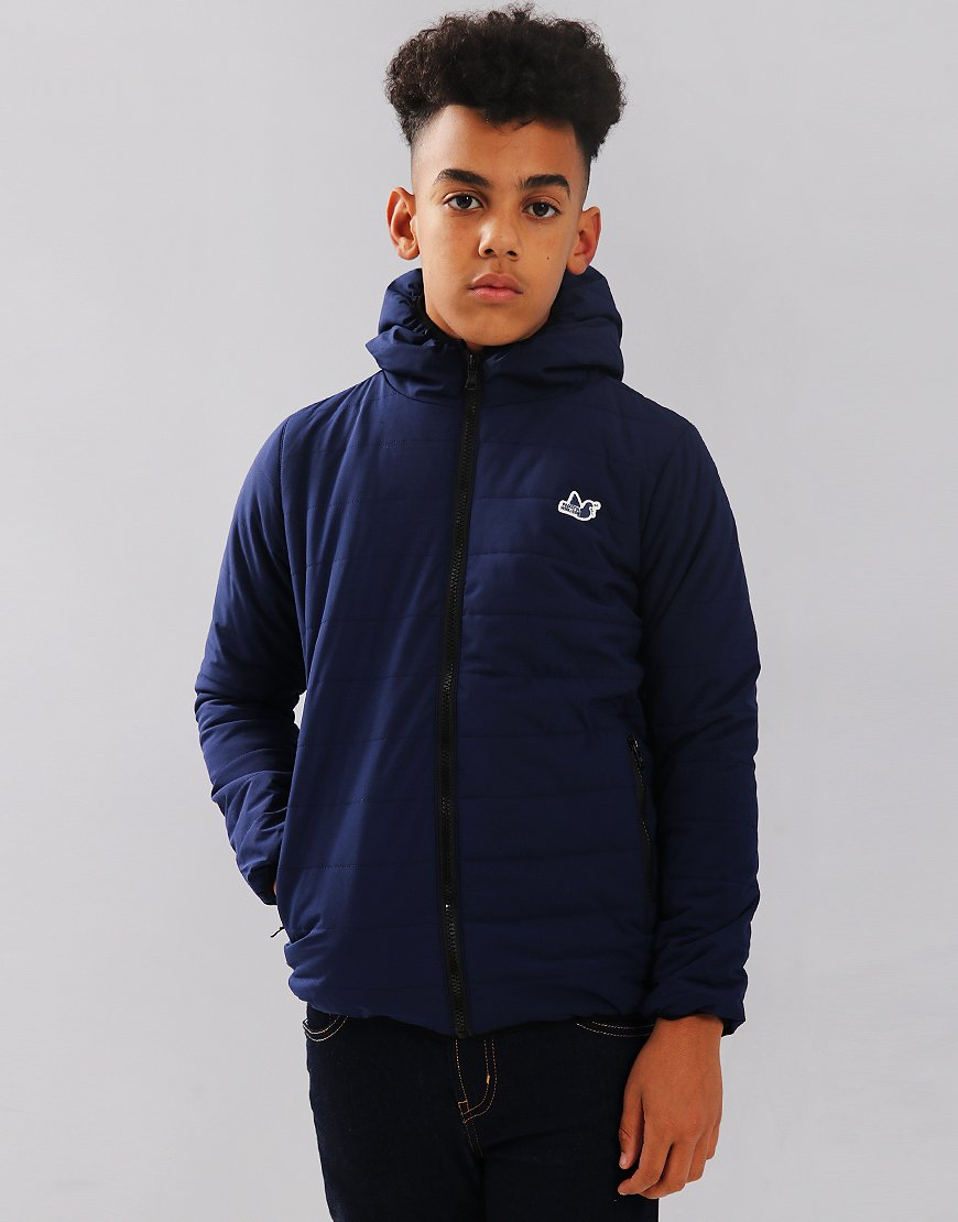 Peaceful Hooligan Junior Harvey Jacket Navy