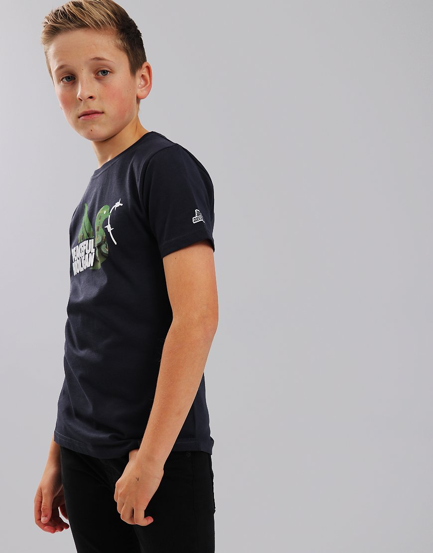 Peaceful Hooligan Junior Subbuteo T-Shirt Navy