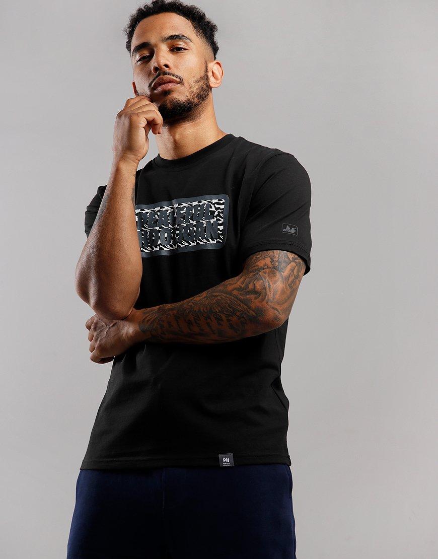 Peaceful Hooligan Midnight Box T-Shirt Black