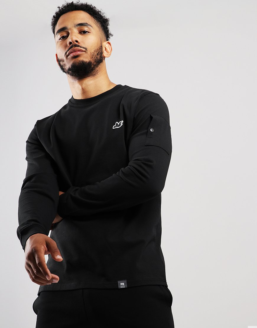 Peaceful Hooligan Orlando Crew Sweat Black
