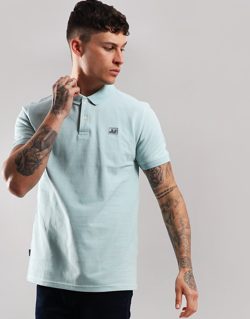Peaceful Hooligan Quinn Polo Shirt Cadet