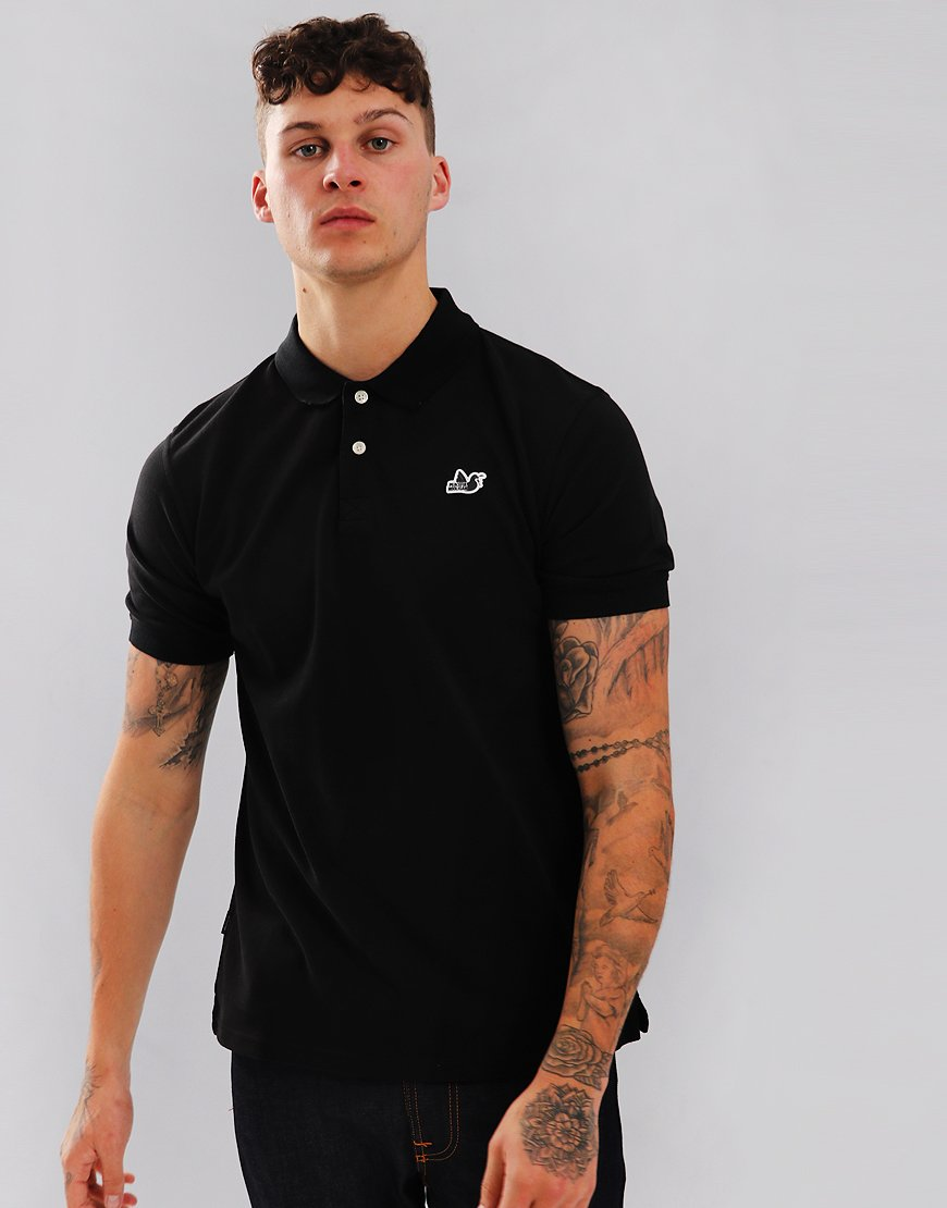 Peaceful Hooligan Steward Polo Shirt Black