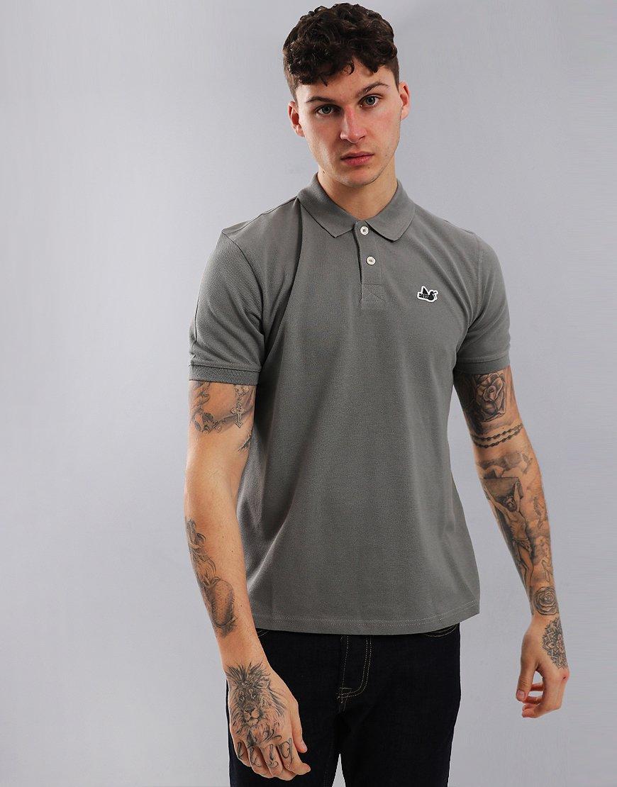Peaceful Hooligan Steward Polo Shirt Dark Grey