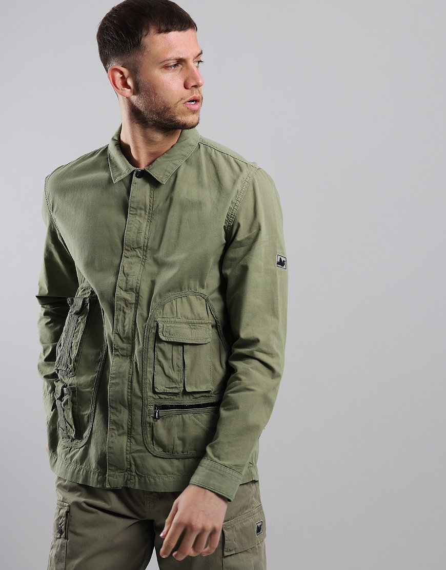 Peaceful hooligan Jefferson Overshirt Herb