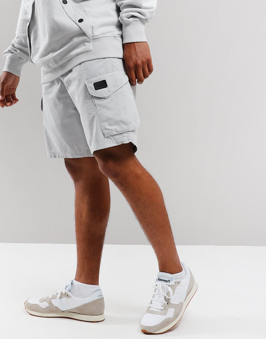 Peaceful Production Cargo Shorts Ice