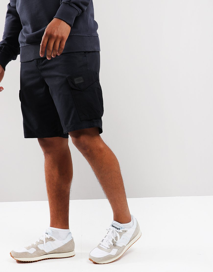 Peaceful Production Cargo Short Navy