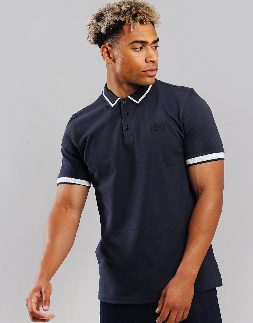 Peaceful Production Classic Polo Shirt Navy