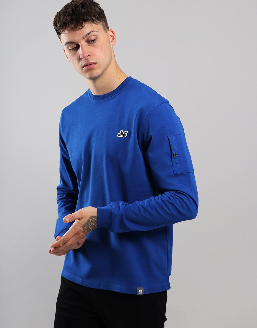 Peaceful Hooligan Orlando Crew Sweat Bright Blue