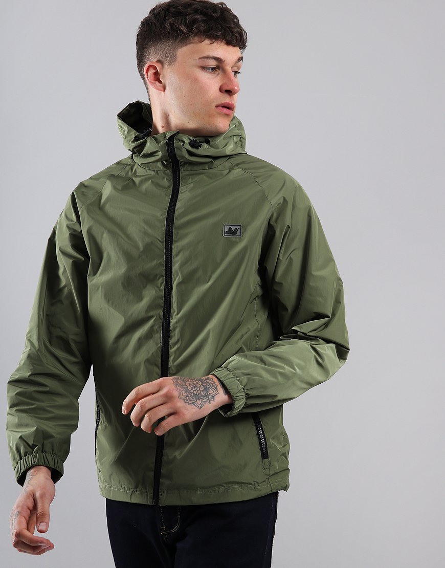 Peaceful Hooligan Trainer Rain Jacket Khaki
