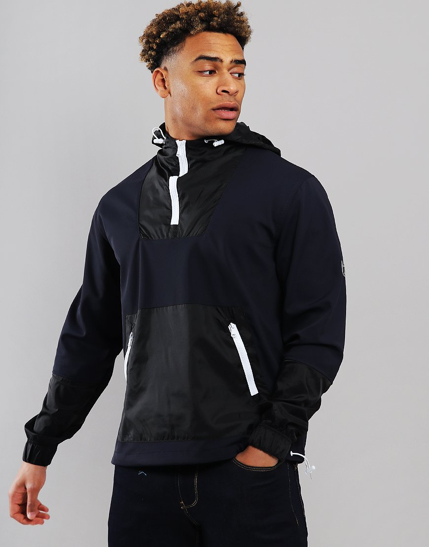 Peaceful Hooligan Typhoon Overhead Jacket Navy
