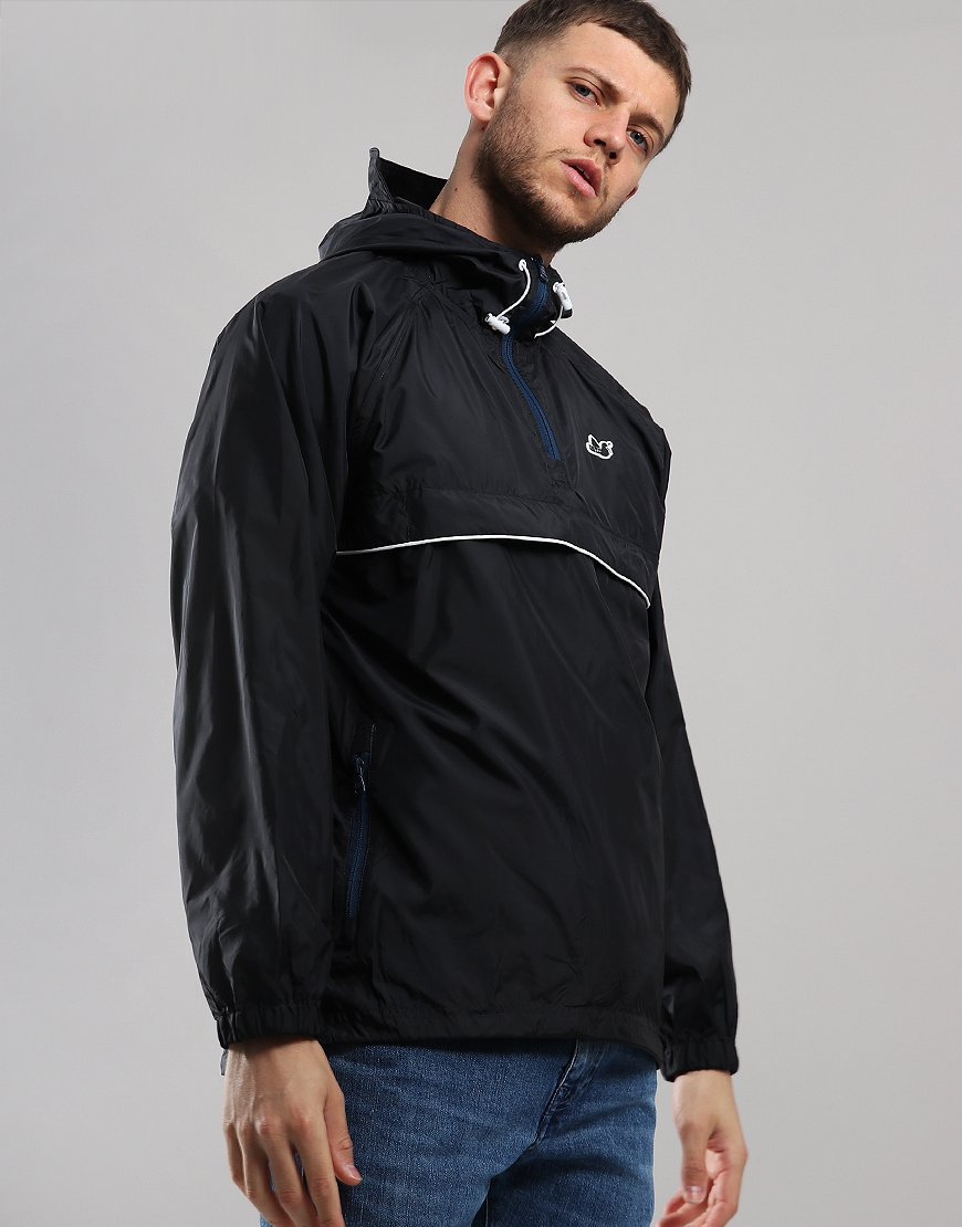 Peaceful Hooligan Weston Smock Jacket Navy