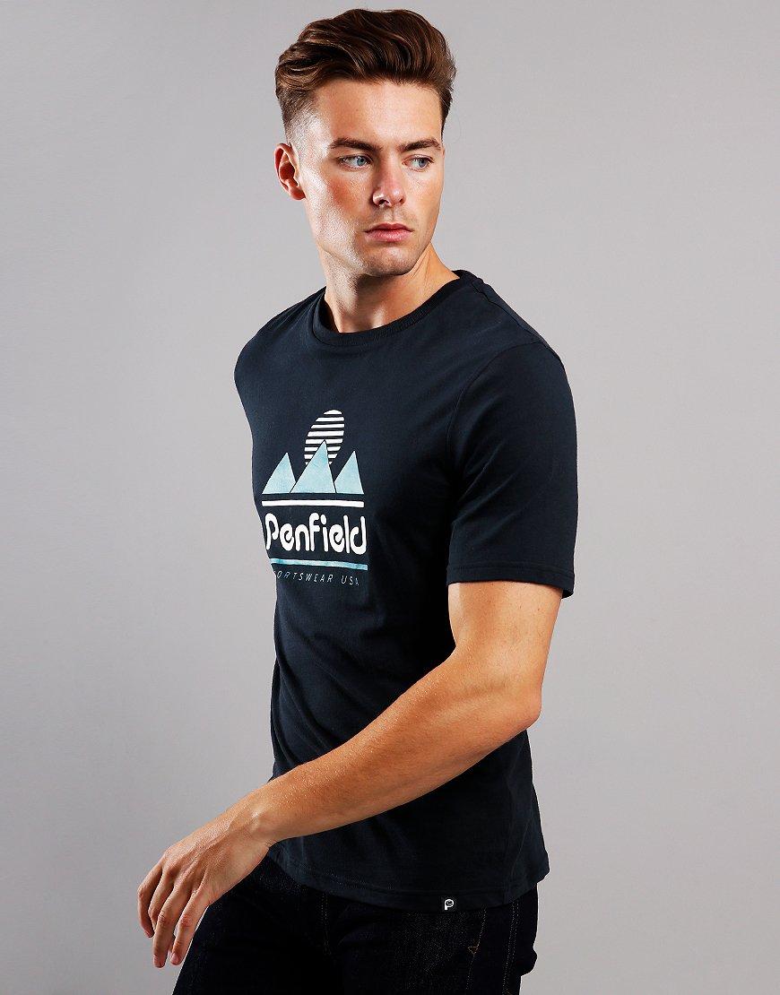 Penfield Abrams T-Shirt  Black