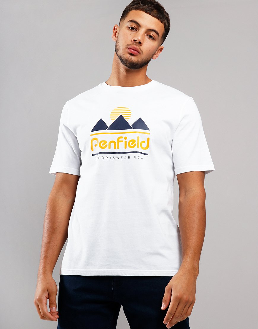 Penfield Abrams T-Shirt  White