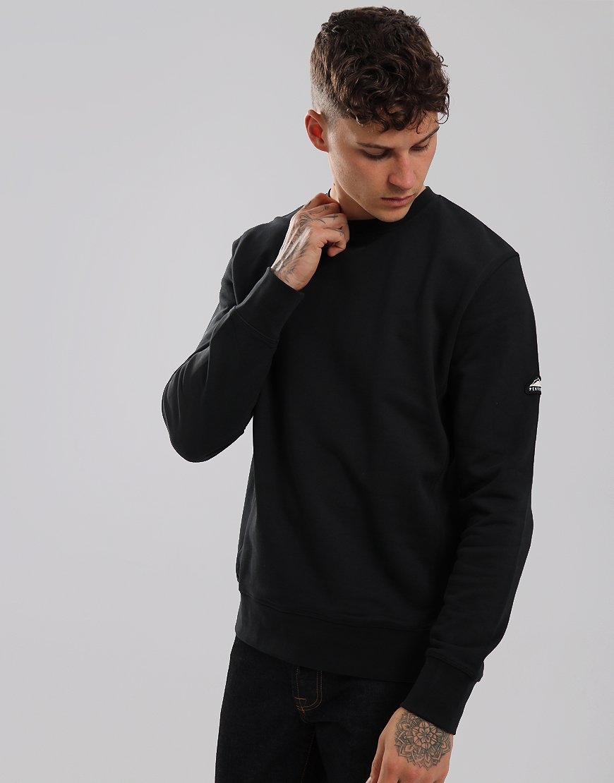 Penfield Eastbay Crew Sweat Black